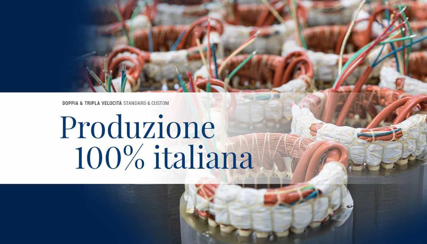 Motori Elettrici costruiti in Italia